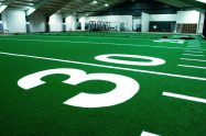 Indoor football installation
