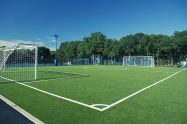 Synthetic turf multisport synthetic grass field