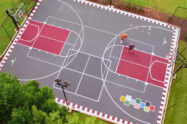 Turf Tek Basketball Court